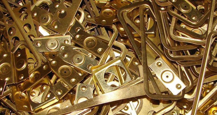 Латунирование металлических деталей