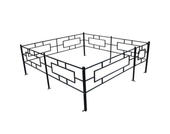 Примеры изготовленных металлических оград